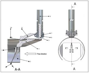 The Metex Nordisk TX11 one way valve rat blocker